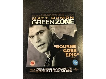 Green Zone Steelbook svensk text - Uppsala - Green Zone Steelbook svensk text - Uppsala