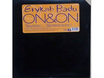 "Erykah Badu title* On & On (Dance Mix)* 90's Golden RnB, Hip-Hop 12"" US"