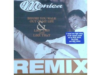 Monica (Pete Rock Etc. RMX) -Before You Walk Out Of My Life & Like This..12