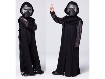 Stl / L Halloween Starwars Kostym The Force Awakens Svart