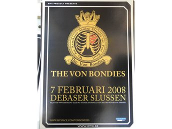 Poster The Von Bondies Debaser i toppskick