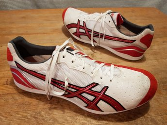 Track and Field shoes spik Asics Japan Thunder 3 str 45 i jättefint skick
