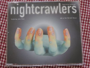 Nightcrawlers - Don't let the feeling go CD Single 1995