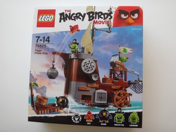 Piggy Pirate Ship 75825 The Angry Birds Lego - Se Beskrivn