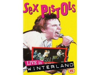 Sex Pistols ?–Live In Winterland 1979 vhs Their last show
