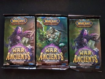 3st World of Warcraft TCG Kort - War of the Ancients Booster Pack