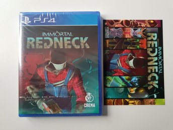 Immortal Redneck - Strictly Limited Games #6 - PS4 NYTT