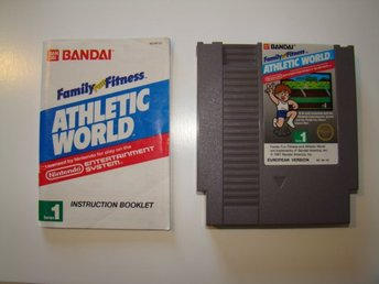 Athletic world spel till Nintendo 8-bit NES