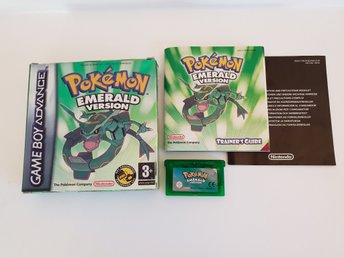 Pokemon Emerald - Gameboy Advance GBA - komplett