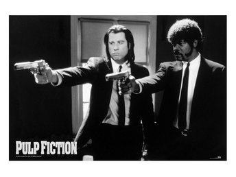 Pulp Fiction - Guns B/W