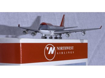 Boeing 747-400 NorthWest Airlines. Herpa Wings 1:500. Mint in Box.