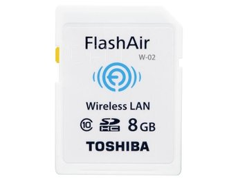 Toshiba Wireless SDHC        8GB Flash Air Class 10