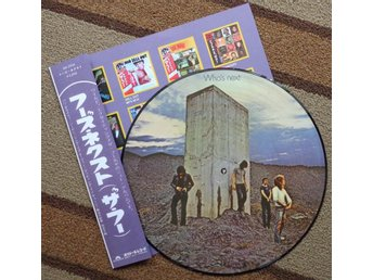 THE WHO 'Who's Next' Japan picture-disc LP w/insert