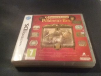 Professor layton and pandora box, nintendo ds