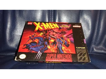 X-men mutant apocalypse för SNES NTSC USA komplett
