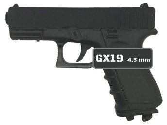 Luftpistol GX19 (4.5 mm, CO2)