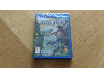 PlayStation Vita: Uncharted: Golden Abyss (fabriksinplastat)