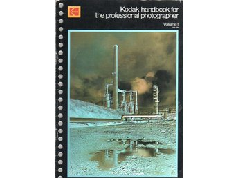 Kodak handbook for the professional photographer vol 1