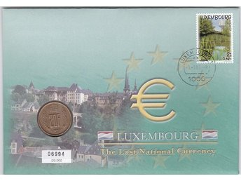 Myntbrev Luxemburg i Serien The Last National Currency