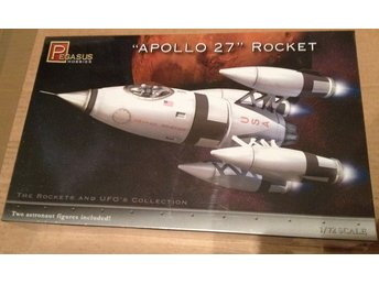 Apollo 27 Rocket 1/72 Pegasus Byggsats