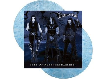 Immortal -Sons of northern darkness dlp clear/blue ltd 500