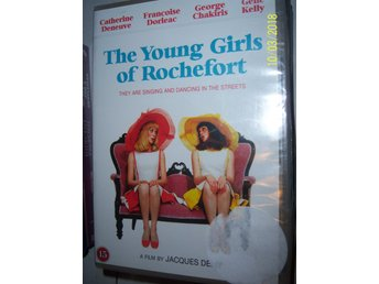 The young girls of Rochefort - Ny, inplastad DVD!!