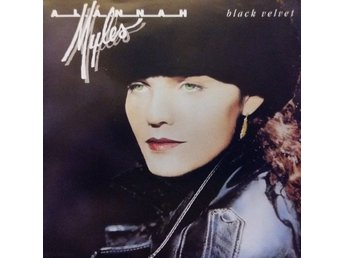 "ALANNAH MYLES 'Black Velvet' + ""If you want to"" 1989 West Germany 7"""