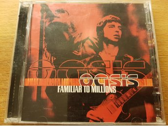 OASIS – FAMILIAR TO MILLIONS 2 CD 2000 Nyskick!