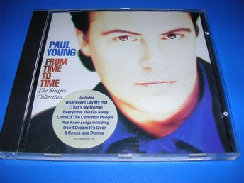 PAUL YOUNG - from time to time - singles collection (cd) - Malmö - PAUL YOUNG - from time to time - singles collection (cd) - Malmö