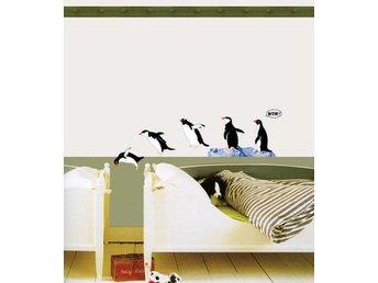 Väggdekor Minions : Väggdekor pingviner väggdekoration på tradera