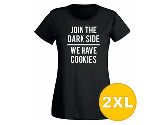 T-shirt Join The Dark Side Svart Dam tshirt XXL