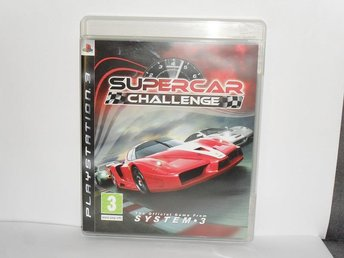 sony playstation 3 ps3 spel Supercar challenge