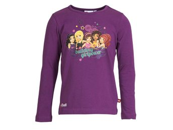 T-SHIRT FRIENDS, 704654 L/S FRESH LILAC-128