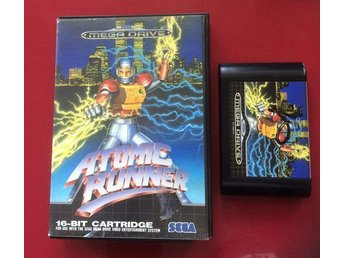 Atomic Runner (MEGADRIVE) Run 'N Gun - Boden - Atomic Runner (MEGADRIVE) Run 'N Gun - Boden