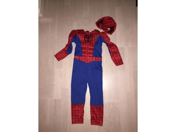 SPIDERMAN overall med huva