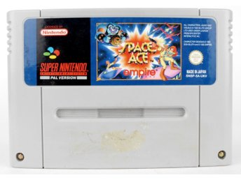 Space Ace - Super Nintendo SNES - PAL (EU)