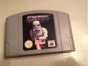 "Star Wars ""Shadows Of The Empire"" - Nintendo 64 spel - EUR"