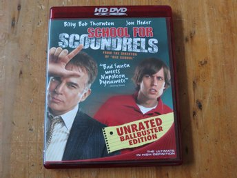 SCHOOL FOR SCOUNDRELS (HD DVD) Billy Bob Thornton