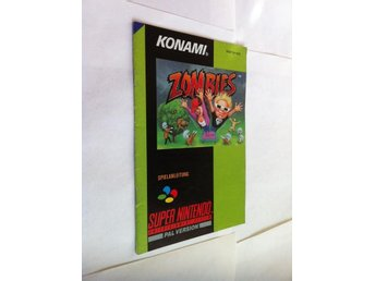 SNES: Zombies (Ate my Neighbors) (Manual - Tysk)