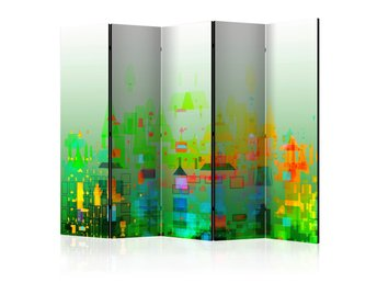 Rumsavdelare - Abstract City II Room Dividers 225x172
