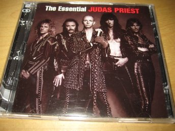 JUDAS PRIEST - THE ESSENTIAL.  DUBBEL-CD.