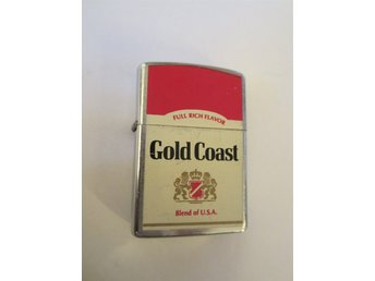 Cigarettändare Gold Coast bensin