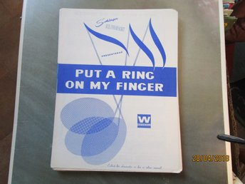 PUT A RING ON MY FINGER - NOTER