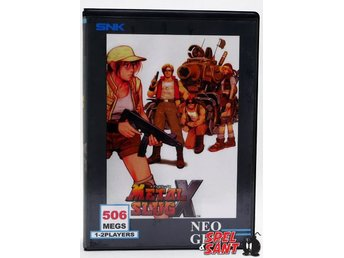 Metal Slug X (inkl. Shockbox & Japansk version)