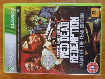 Red Dead Redemtion x-box 360