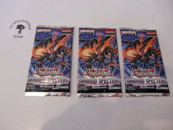 Yu-Gi-Oh! Shadow Specters booster pack 3 st