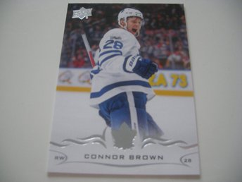 UD Series One 18/19 #170 Connor Brown - Toronto Maple Leafs