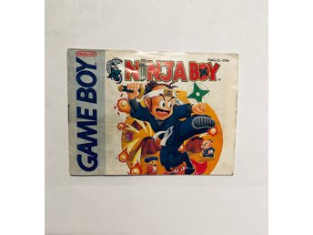 Ninja boy (Engelsk manual Game Boy USA)