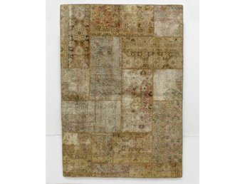 Carpet patchwork, ca 210x146 cm