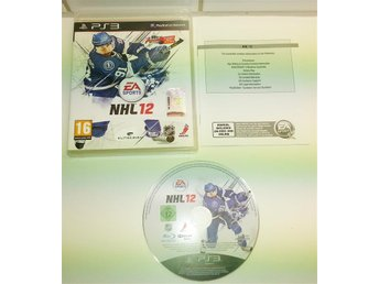 Playstation 3 spelet ** NHL 12 ** ** KOMPLETT **